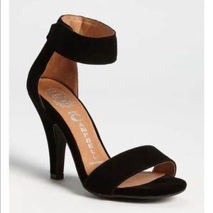 Jeffrey Campbell Velcro Ankle Strap Heels, 7.5